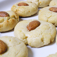 Orange Almond Cookies
