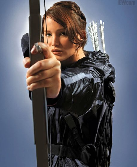 Hunger Games  Jenn Lawrence Bow & Arrow