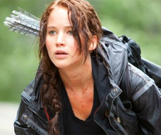 Hunger Games - Jennifer Lawrence Arrows