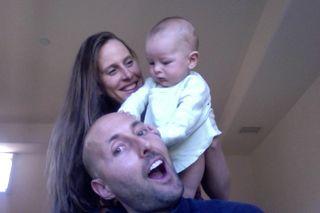 Brian Johnson family